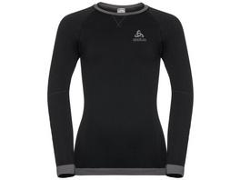 Odlo Warm Shirt LS with Facemask Damen black 2019 Unterwäsche schwarz