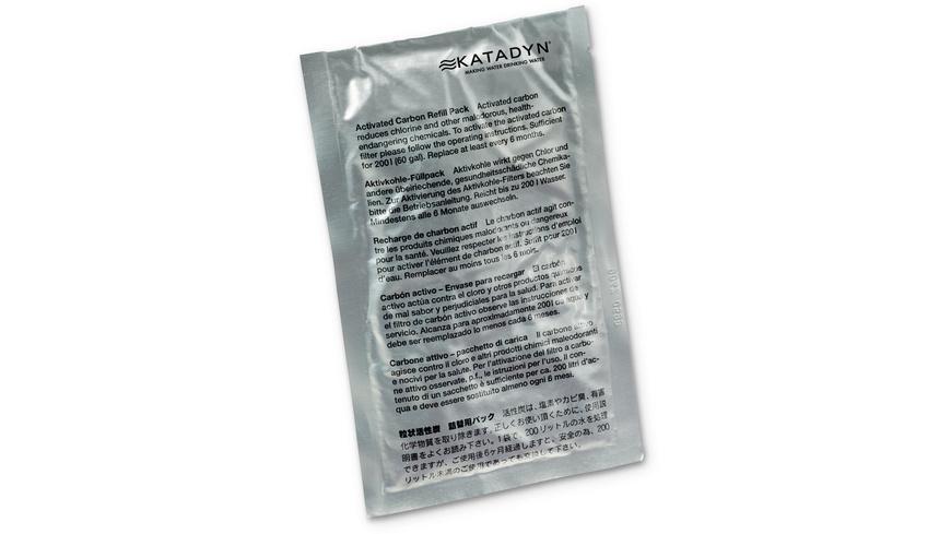 Katadyn - Combi Aktivkohle Nachfuellpack - Wasserfilter Entkeimungsmittel