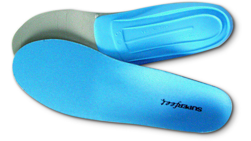 Superfeet - Synergizer Blue Capsule Einlagesohle - Sohlen