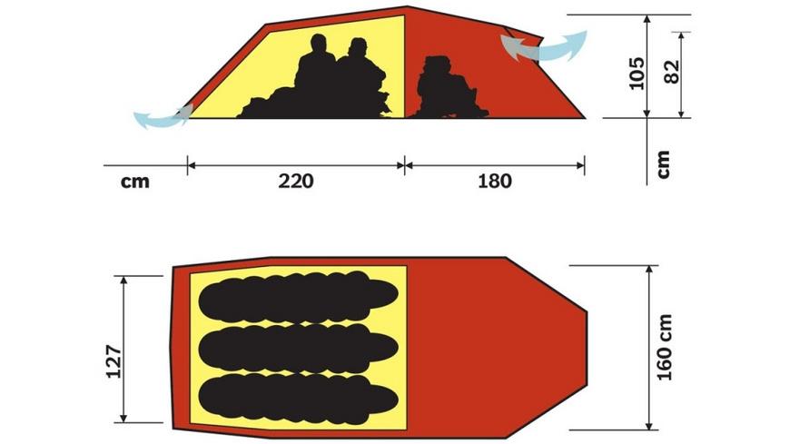 Hilleberg - Nallo 3 GT - Zelte