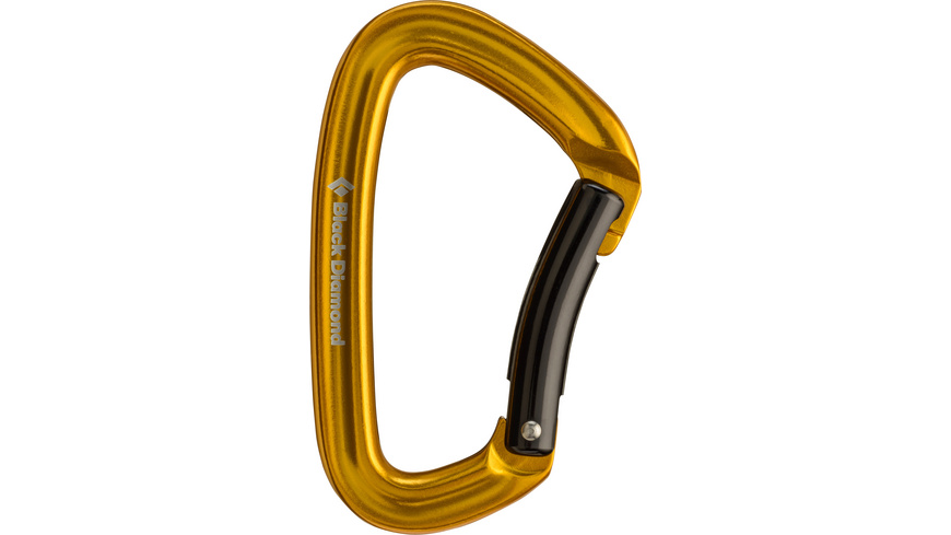 Black Diamond - Positron Bent - Karabiner