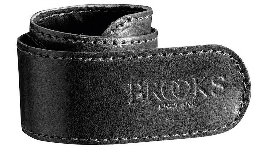 Brooks - Hosenschnappband Leder - Schutzbleche