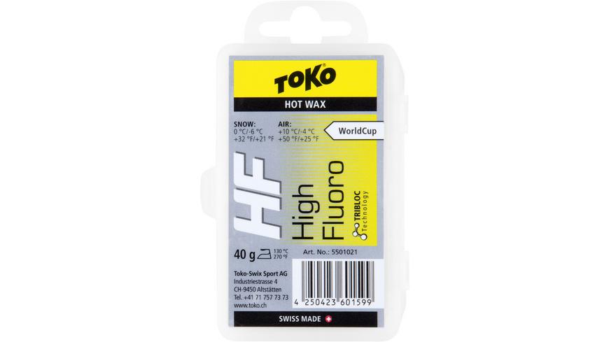 Toko - Hot Wax yellow 40g - Skiwachs Werkzeug