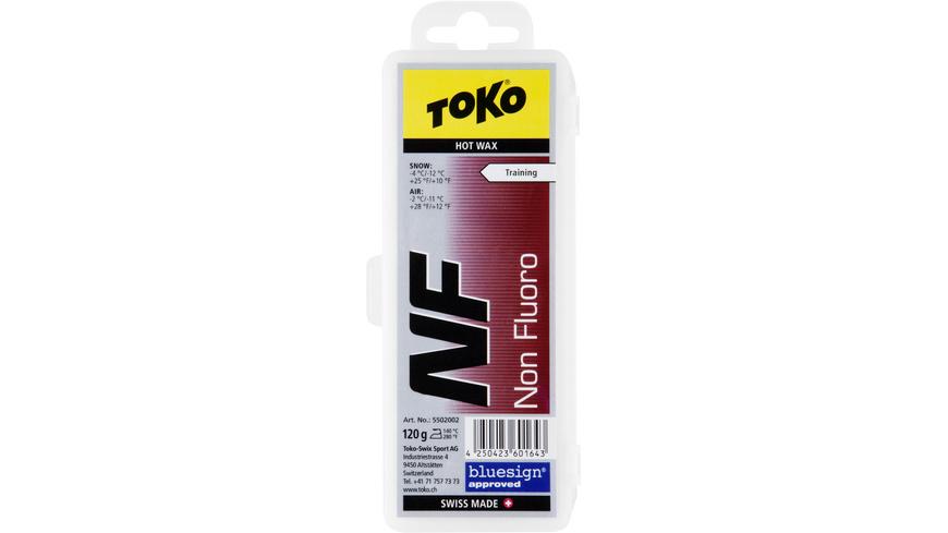 Toko - NF Hot Wax red 120g - Skiwachs Werkzeug