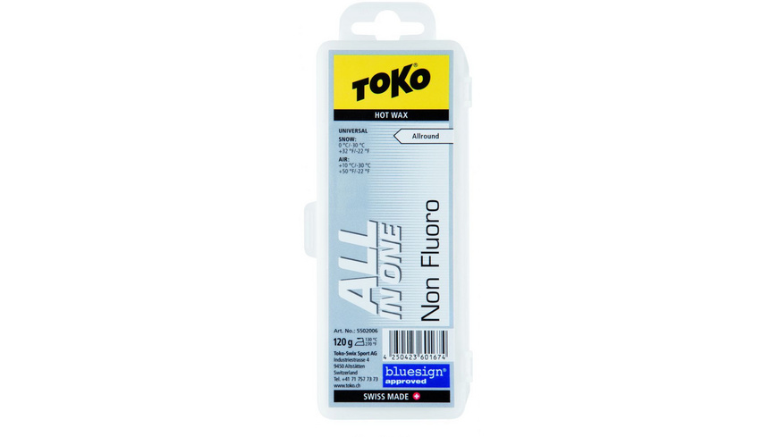 Toko - All in one Hot Wax 120g - Skiwachs Werkzeug