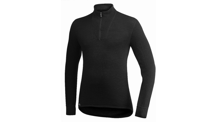 Woolpower - M Zip Turtleneck 400 - Lange Oberteile