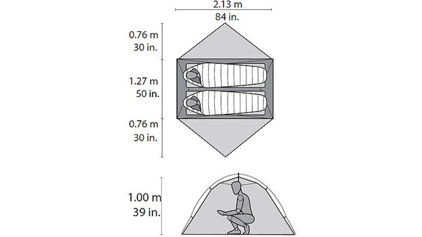 MSR - Hubba Hubba NX - Zelte