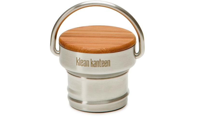 Klean Kanteen - Bamboo Cap Steel - Trinkflaschen