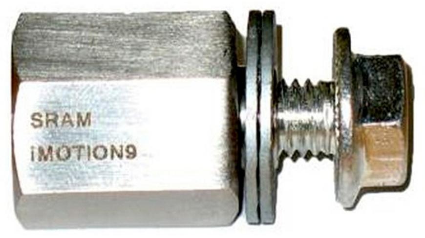 Thule - Adapter fuer Kupplung M10x1 SramRohloffBionXNuVi - Veloanhaenger