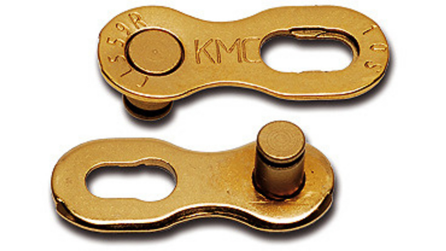KMC - MissingLink 10f gold 2 Stk - Velowerkzeug