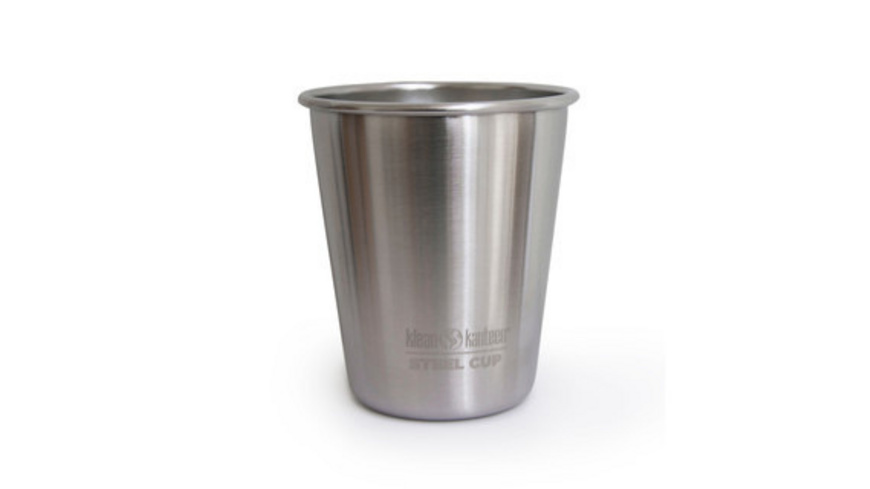 Klean Kanteen - Steel Cup Trinkbecher 295 ml - Campinggeschirr Besteck