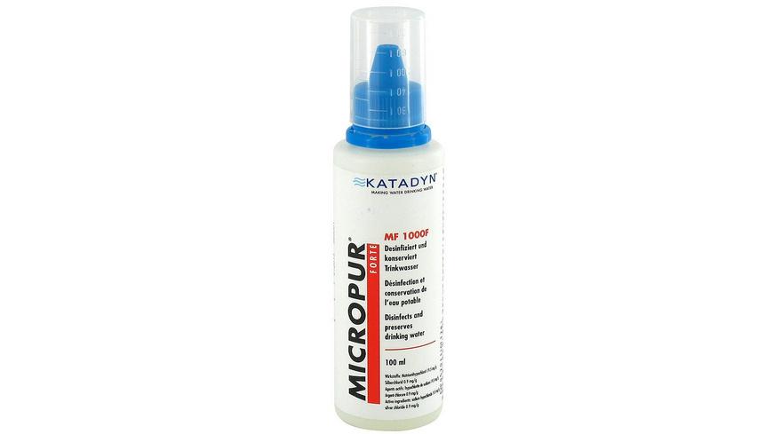 Katadyn - Micropur Forte MF 1000F - Wasserfilter Entkeimungsmittel