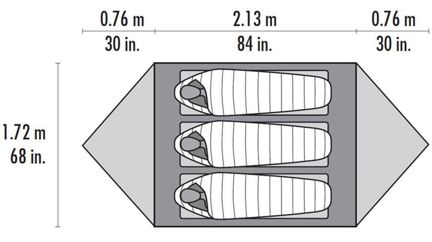 MSR - Mutha Hubba NX - Zelte
