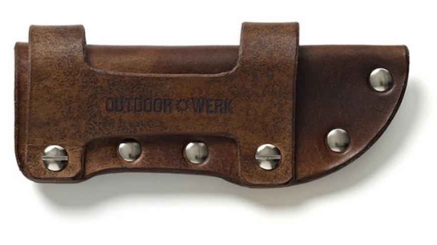 Outdoorwerk - Lederscheide OW2 - Outdoor Messer