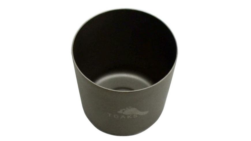 TOAKS - Titanium Shot Glass - Campinggeschirr Besteck