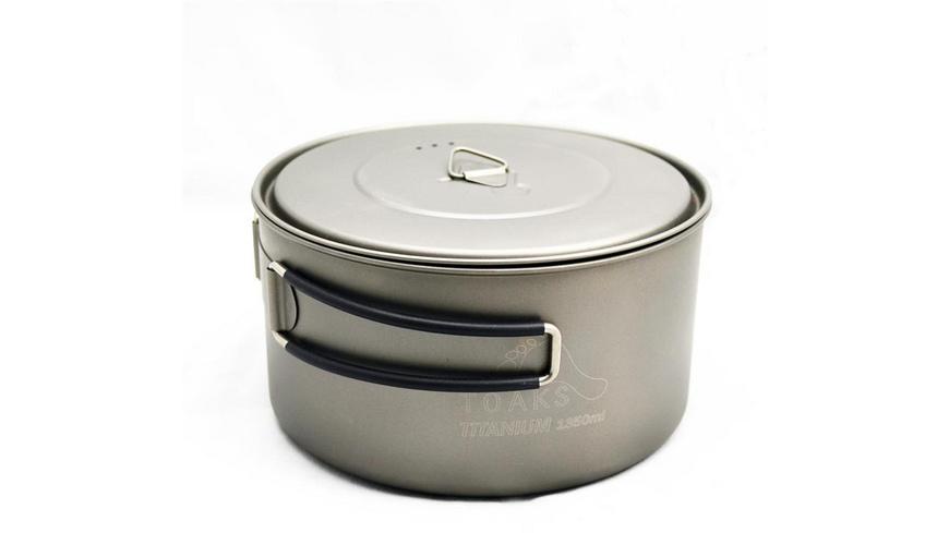 TOAKS - Titanium 1350 ml Pot - Pfannen Toepfe
