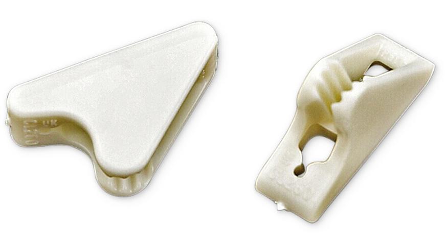 Clamcleat - Leinenspanner Fluo 25 mm 8 Stck - Zelt Zubehoer