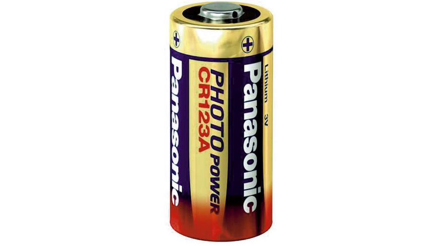 Panasonic - CR123A Batterie - Batterien Akkus