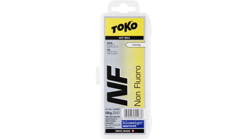 Toko - NF Hot Wax yellow 120g - Skiwachs Werkzeug