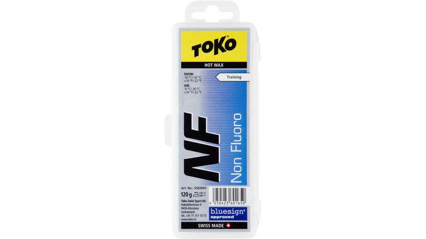 Toko - NF Hot Wax blue 120g - Skiwachs Werkzeug