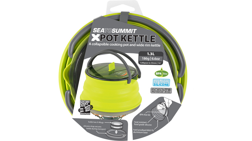 Sea to Summit - XKettle 13 Liter - Pfannen Toepfe