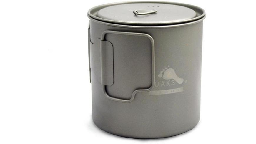 TOAKS - Titanium 650 ml Pot - Pfannen Toepfe