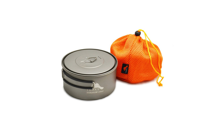 TOAKS - Titanium 900 ml Pot - Pfannen Toepfe