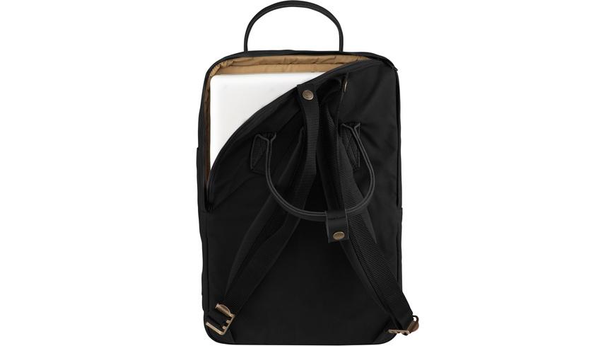 Fjaellraeven - Kanken No2 Laptop 15 Black - Rucksaecke