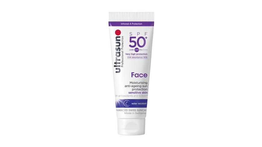 Ultrasun - Face SPF50 Tube - Sonnencremes