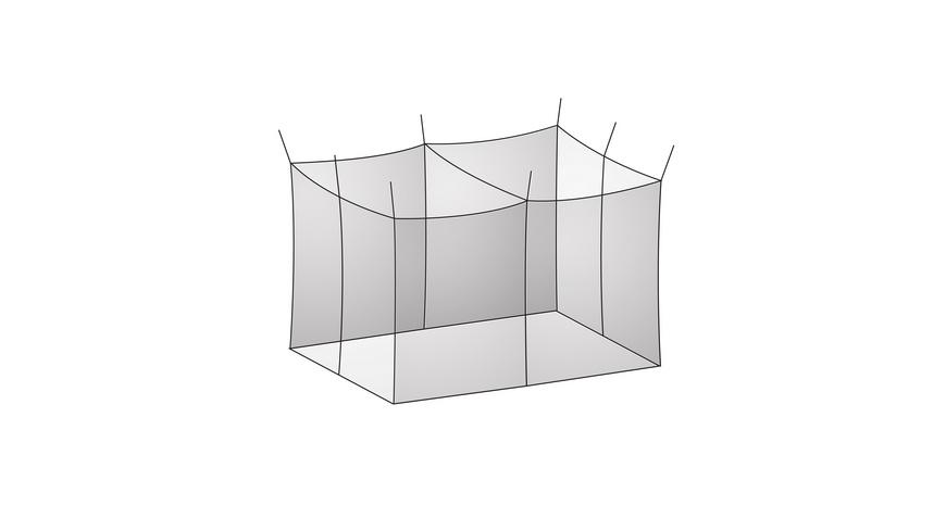 Basic Nature - Basic Moskitonetz Doppel - Moskitonetze