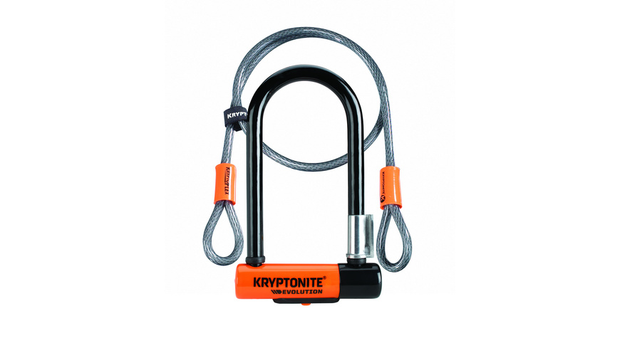 Kryptonite - ULock Evolution Mini7 wCable - Veloschloesser
