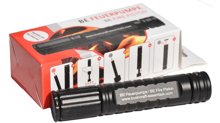 Bushcraft Essentials - Feuerpumpe - Feuer Survival