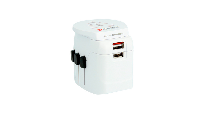 Skross - Pro Light USB World - Reiseadapter