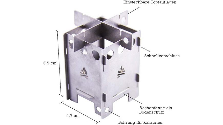 Bushcraft Essentials - EDCBox - Campingkocher
