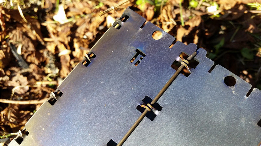 Bushcraft Essentials - Bushbox LF Titanium - Campingkocher