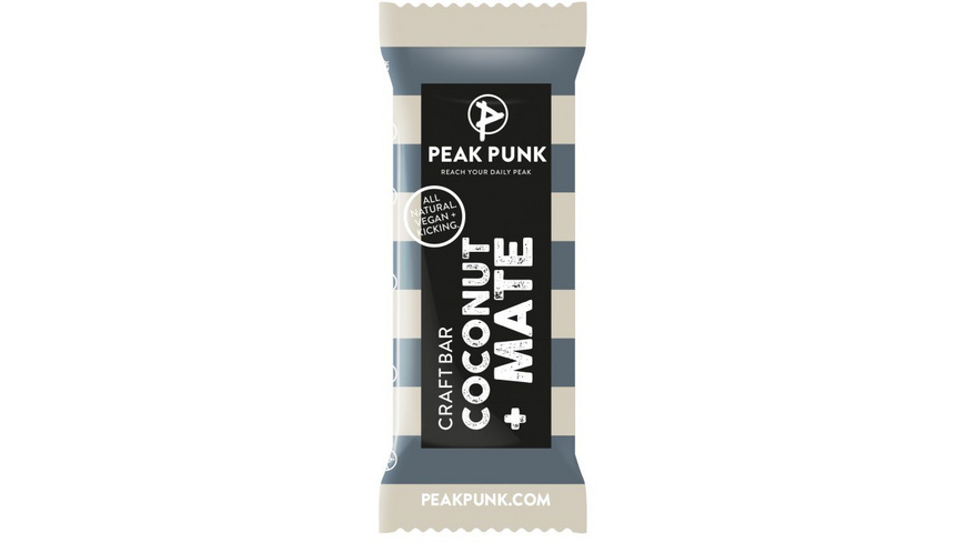 Peak Punk - Craft Bar Coconut Mate - Outdoor Nahrung