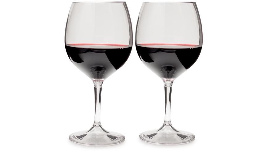 GSI Outdoors - Red Wine Glass Set - Campinggeschirr Besteck