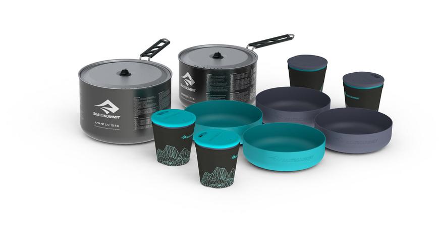 Sea to Summit - Alpha 2 Pot Cook Set 42 - Pfannen Toepfe