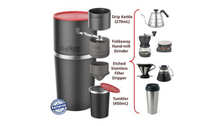 Cafflano - Klassic AllinOne - Kaffeekocher