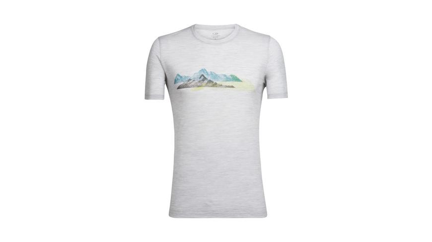 Icebreaker - Tech Lite SS Crewe Misty Peaks - TShirts