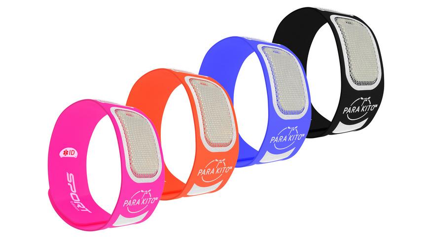 ParaKito - Mueckenschutz Sport Armband - Insektenschutz