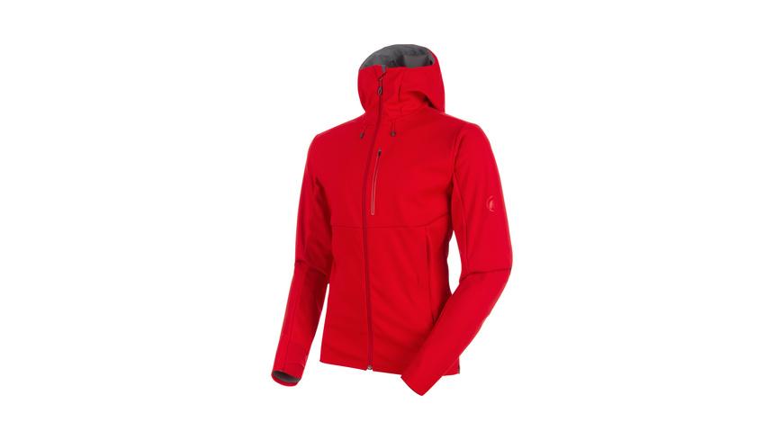 Mammut - Ultimate V SO Hooded Jacket Men - Softshelljacken