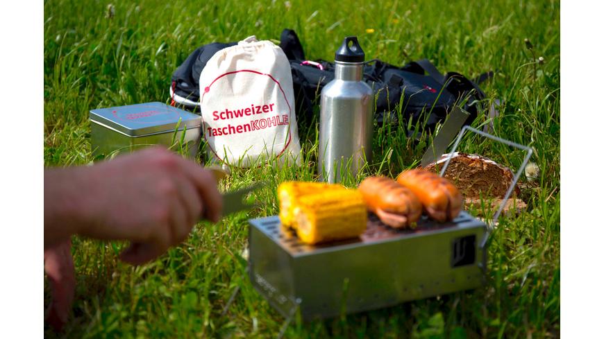 Taschengrill - Schweizer Taschengrill Set - Grills