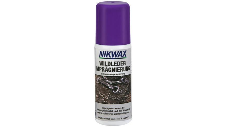 Nikwax - Wildleder Impraegnierung - Pflegemittel