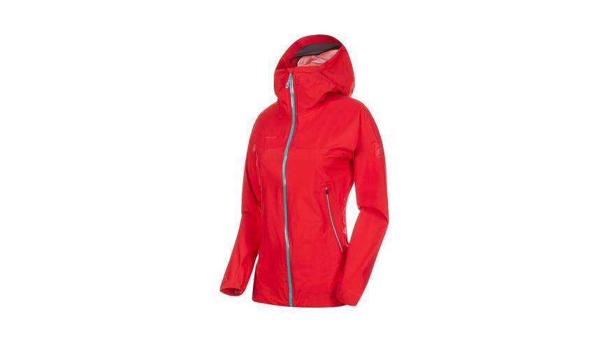 Mammut - Masao Light HS Hooded Jacket Women - Hardshell Regenjacken