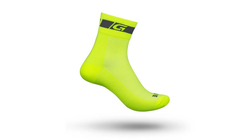GripGrab - HiVis Regular Cut Sock - Velosocken