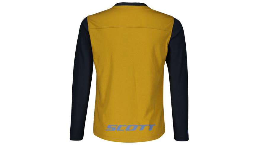 SCOTT - Shirt Jr Trail Dri LSL - Velobekleidung