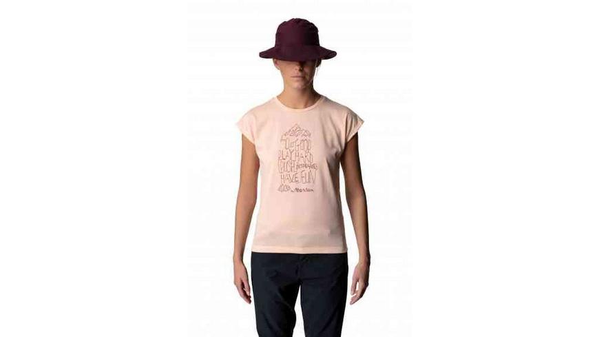 Houdini - Womens Big Up Message Tee - TShirts