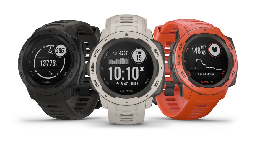 Garmin - Instinct GPS Watch - Sportuhren