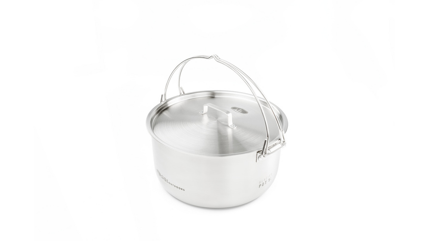 GSI Outdoors - Glacier Stainless Kettle - Pfannen Toepfe